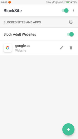 Application BlockSite