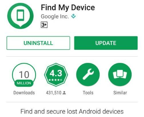 find lost Android phone using Find My Device
