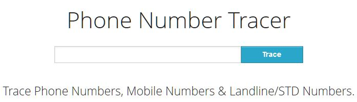trace mobile number current location online - Trace Phone Number