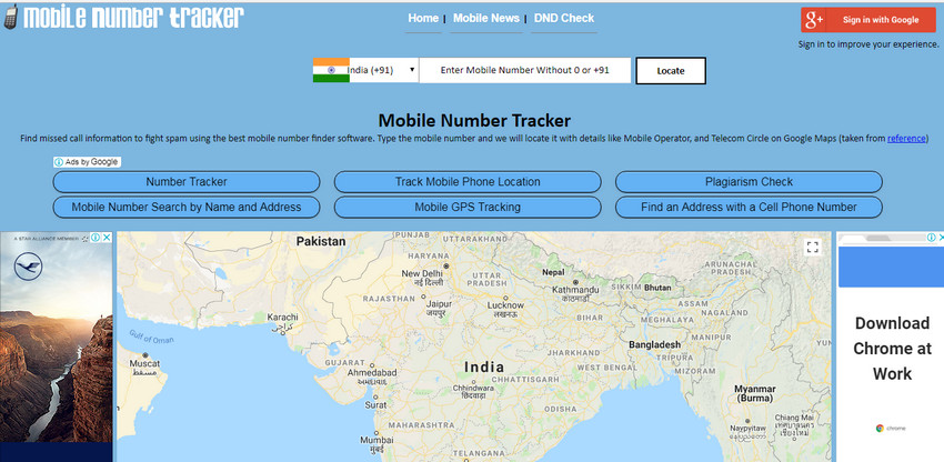 track phone number locations online