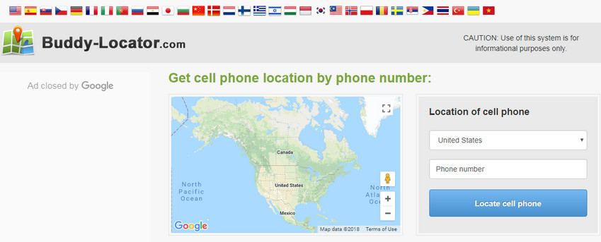 guide to track phone number locations online