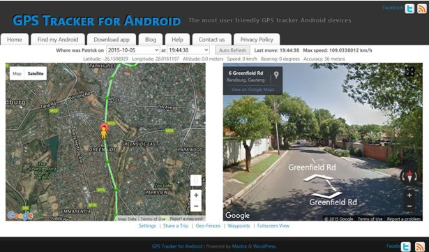 kostenlose gps phone tracking - GPS tracker for android