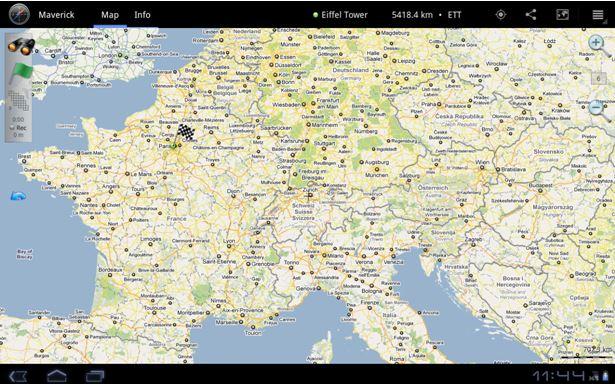 kostenlose gps handy ortung -  Maverick GPS navigation