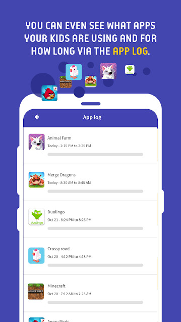 free parental control apps - Screen Time