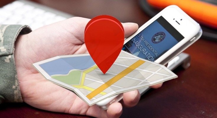A free web site allows users to track the location of any cell phone?