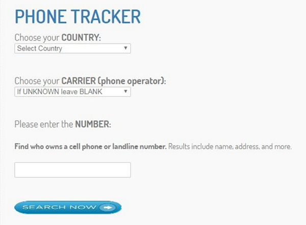 free mobile number tracker