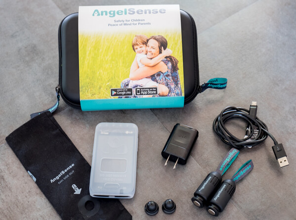 gps tracker for kids - AngelSense Guardian