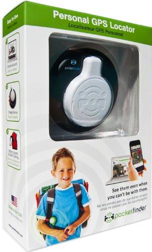 gps tracker for kids - PocketFinder GPS Child Tracker