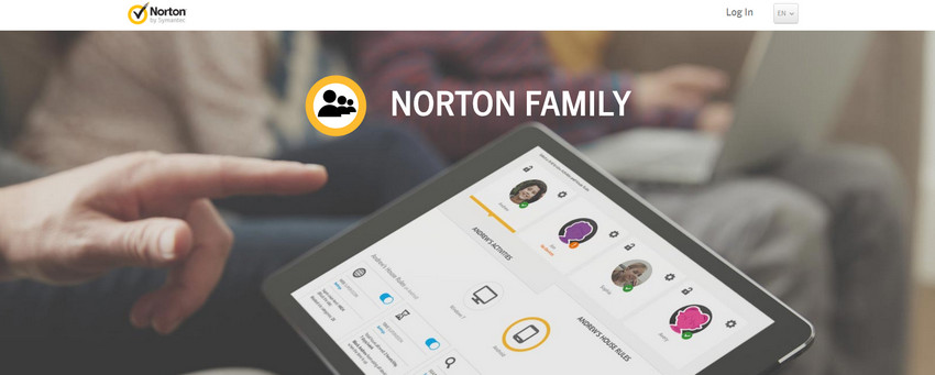 application de surveillance parentale iphone - Norton Family Parental Control