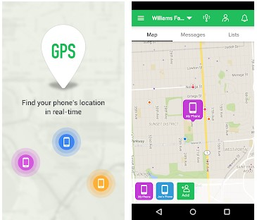 location tracker app - GPS Phone Tracker