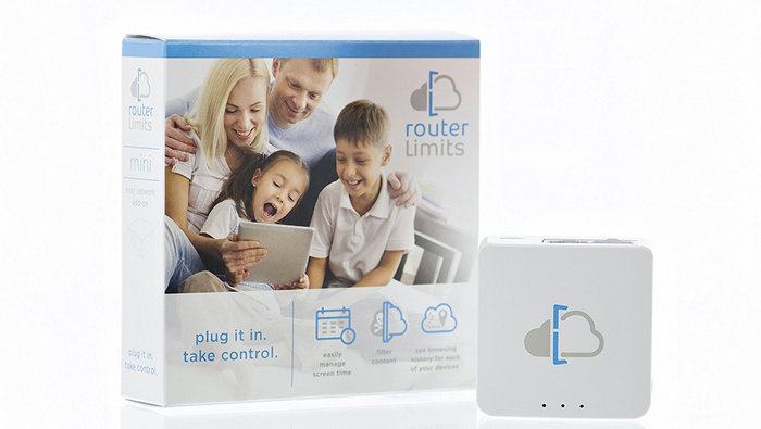Routers para el Control Parental - Router Limits Mini