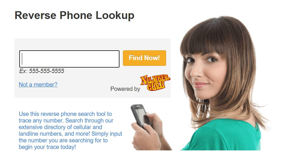 How to find a person with a phone number for free