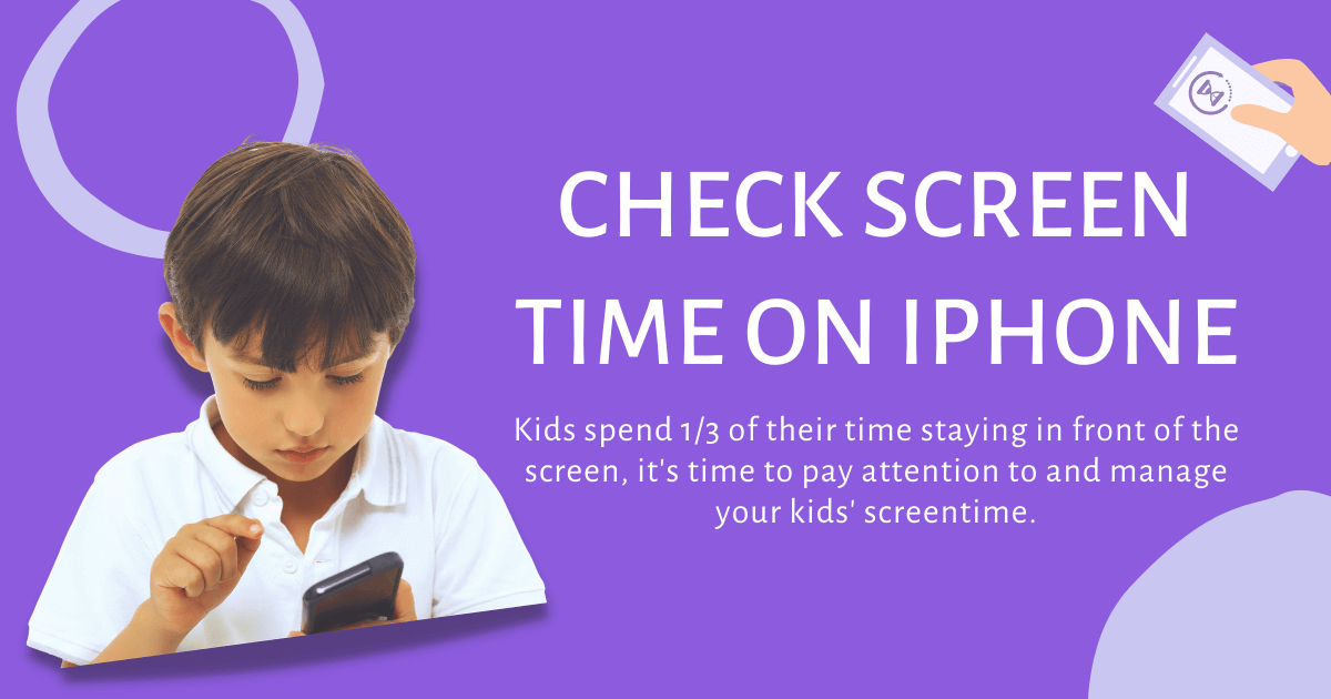 check screen time on phone