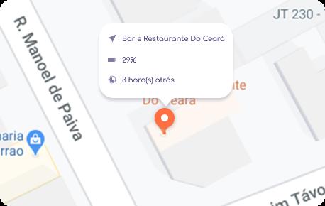 rastrear localização em tempo real