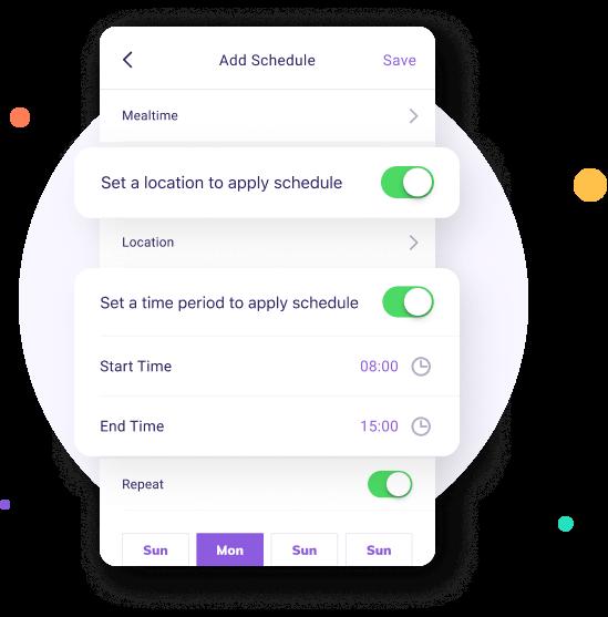 famisafe smart schedule