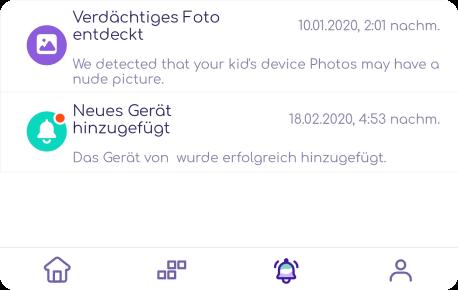 receive alerts for suspicious photos