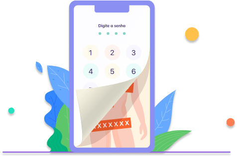 Identifique e Previna o Sexting - app cofre