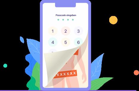 Identifizieren und Verhindern von Sexting - vault app