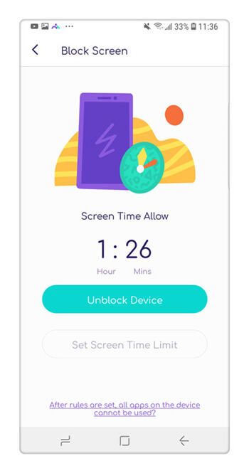 How to limit the phone's screen time with the help of some apps