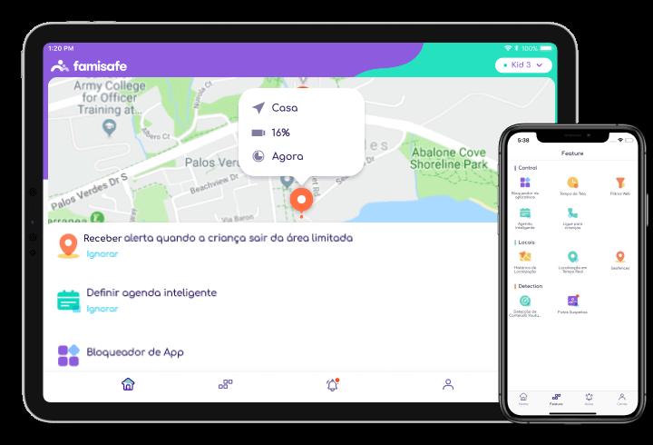 FamiSafe Controle Parental para Android