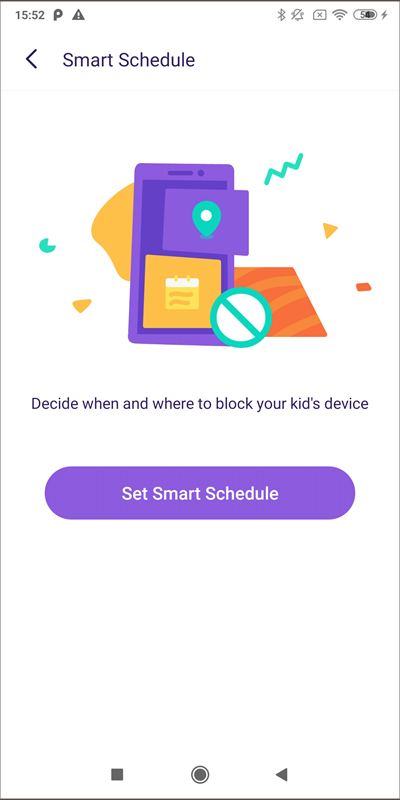 famisafe45-smart schedule-set smart schedule