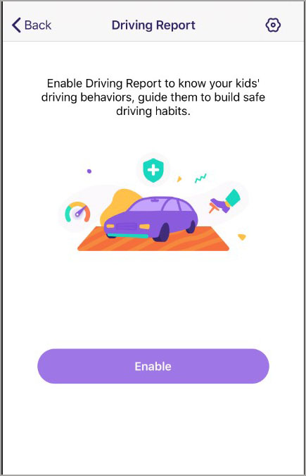 enable driving report