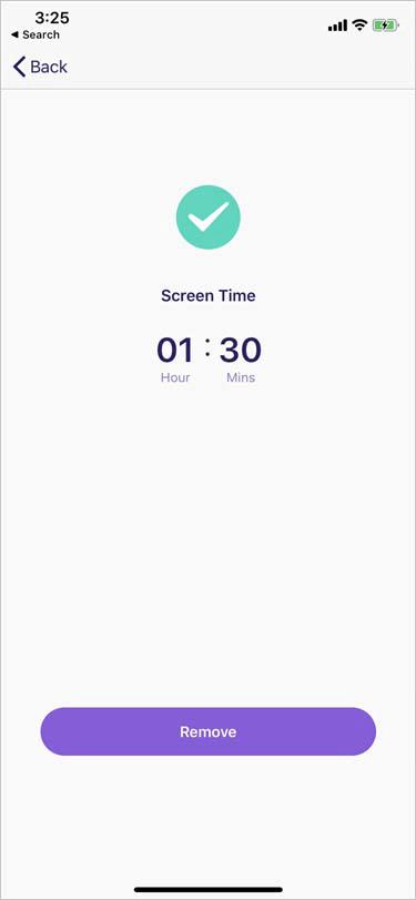 set screen time limit