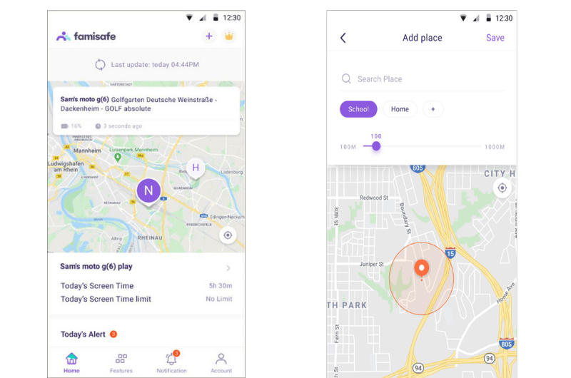 android tracking app - FamiSafe GPS Tracker App